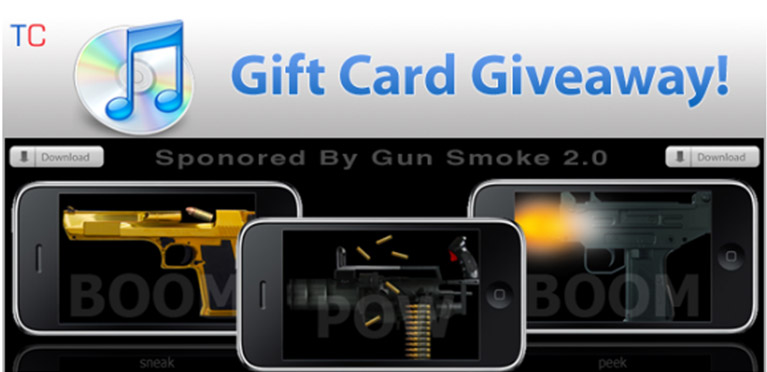 GunSmoke uses a Re-Tweet promotion to virally promote their app